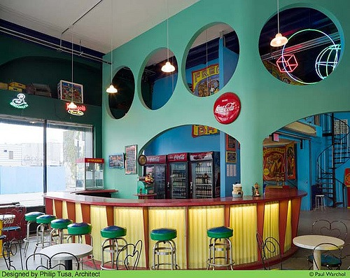 How adorable is the Freak Bar in Coney Island?