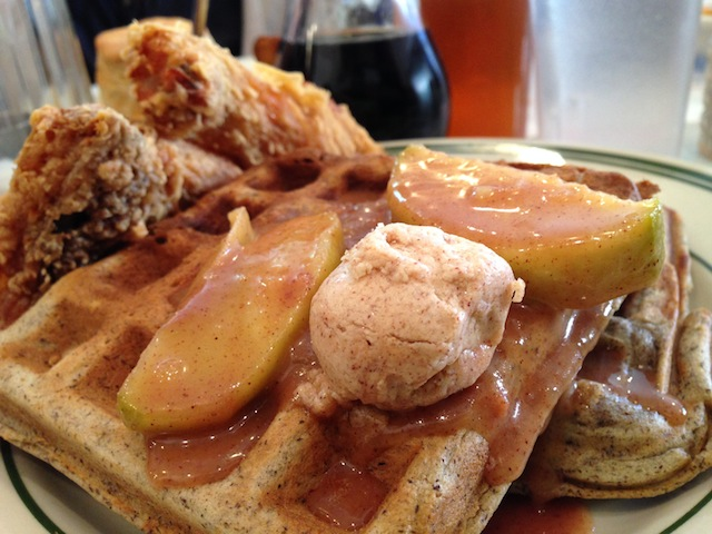 Brooklyn's best chicken and waffles for under $13