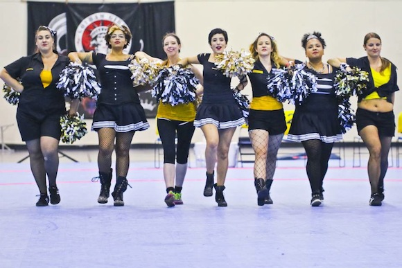 Got spirit? Try out to be a Gotham Girl Roller Derby jeerleader this weekend!