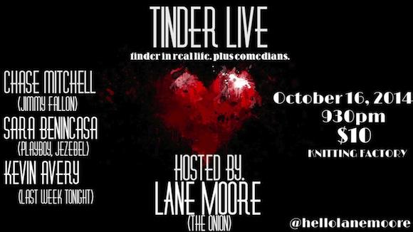 tinder live