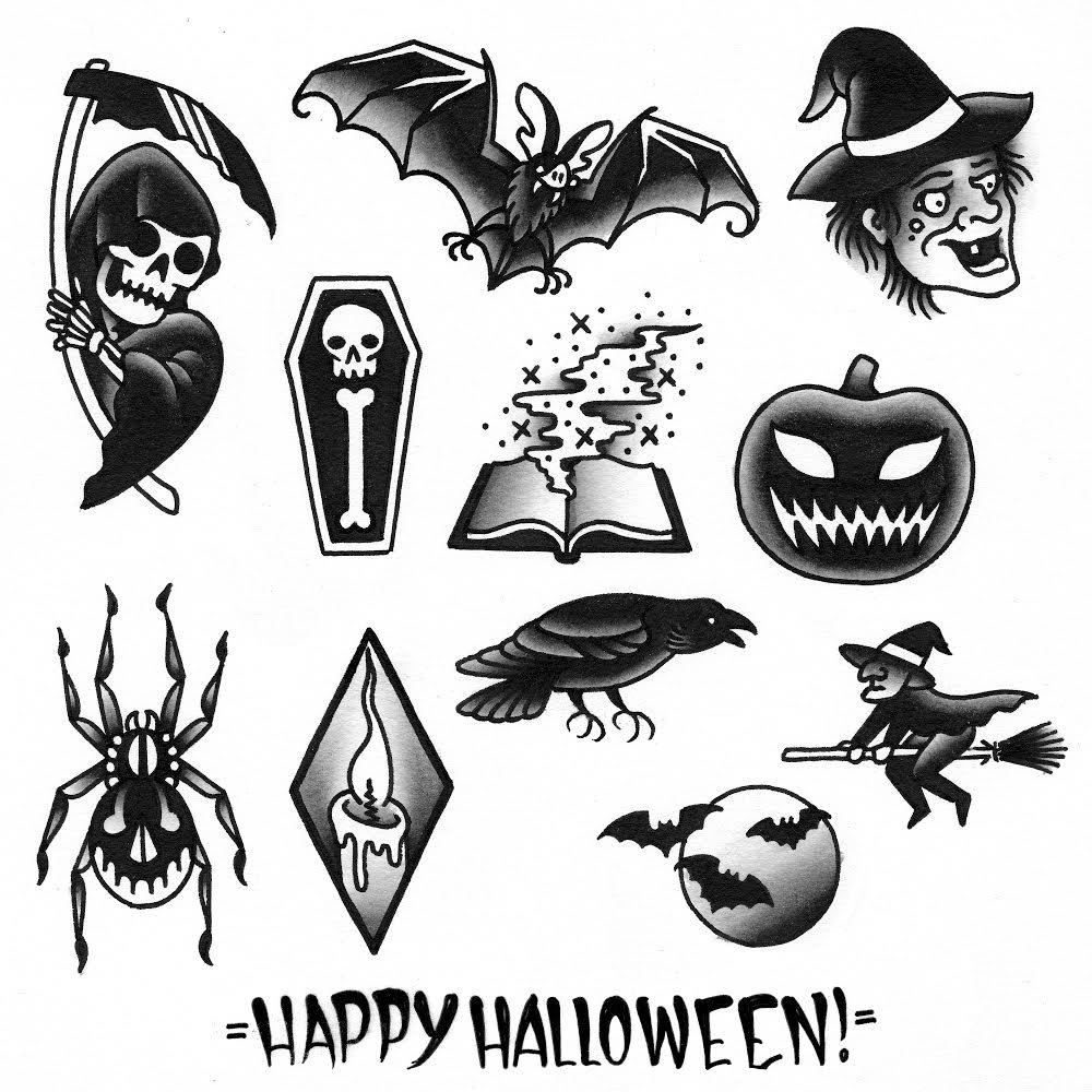 3 Days of Halloween Tattoo Specials - Brokelyn