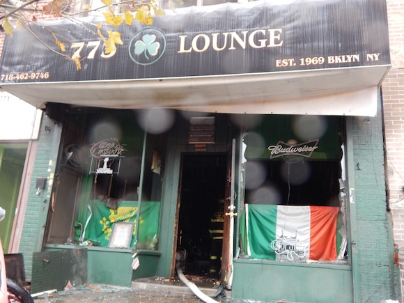 Ditmas Park dive bar 773 Lounge felled by fire