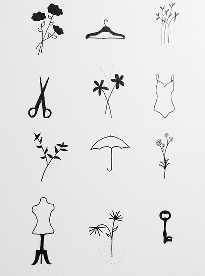 Behold, the adorable flash sheet Tea Leigh created for the event. (via @tealeigh)