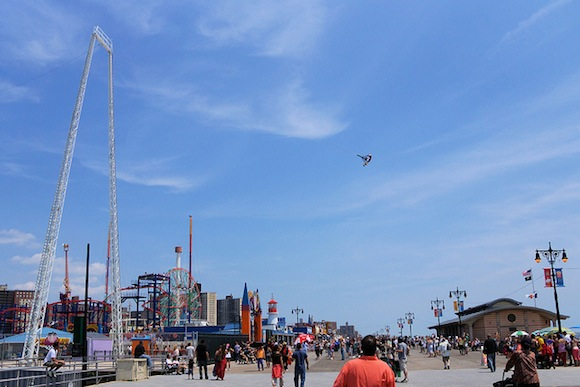 boardwalk flight coney island