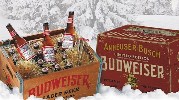 budweiser christmas beer