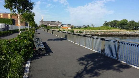 Sunset Park has a new waterfront park, Bush Terminal Piers Park