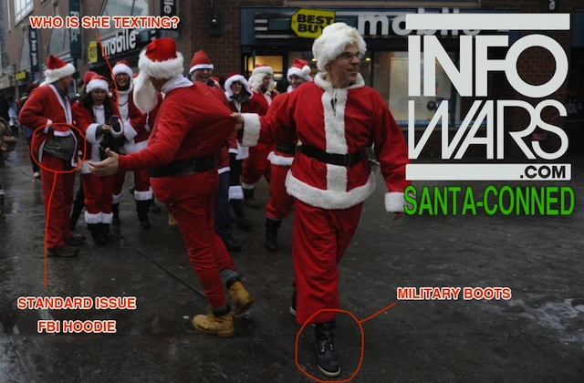 Is the Bushwick SantaCon threat a false flag?
