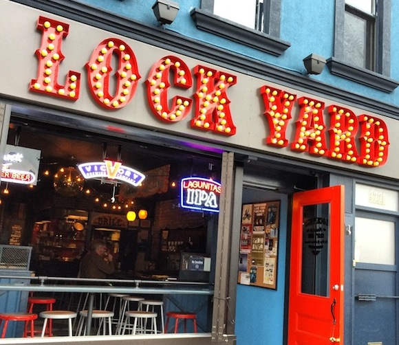 Pair brats and brews at Midwest-themed craft beer bar Lock Yard in Bay Ridge