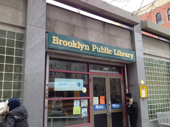 The Sunset Park library might become $525/month affordable housing