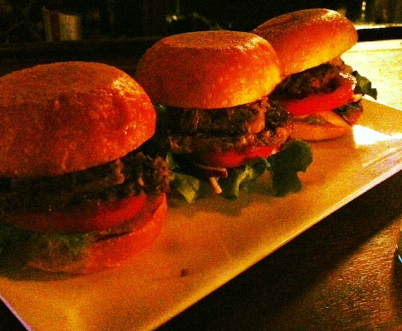 Bar we love The Saint Catherine has $1 happy hour meatloaf sliders now