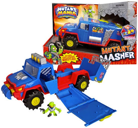 A lucky kid could be playing with this Mutant Masher, and you won't even had to have left the house!