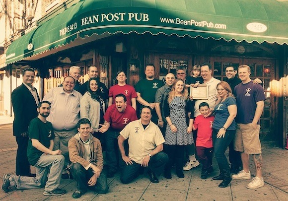 Get to know this friendly crew Saturday night, where we'll be selling Beer Book 7