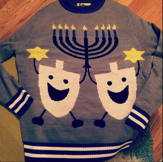 BK's best Chanukah Chappenings (and one hideous menorah sweater)