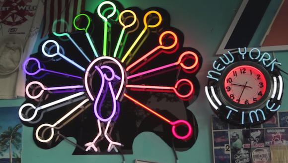 Check out the trailer for Greenpointers' movie about an NYC neon sign making family
