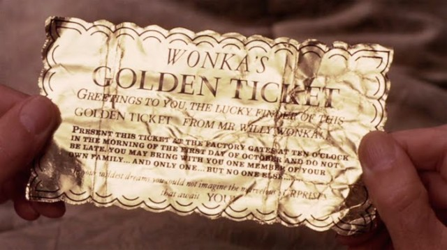 Your ticket won't be golden but it might at least not cost you a mint.