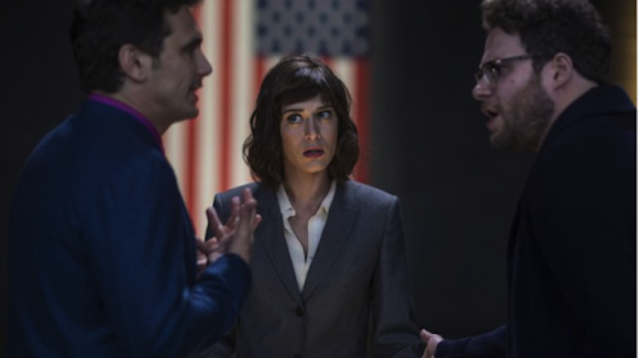 You can see 'The Interview' on Christmas at Williamsburg Cinemas, if you really want to