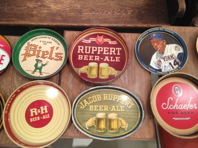 Mmm that new bar smell. Check out Covenhoven's tribute to local beer history when you get our next Beer Book. Via FB.