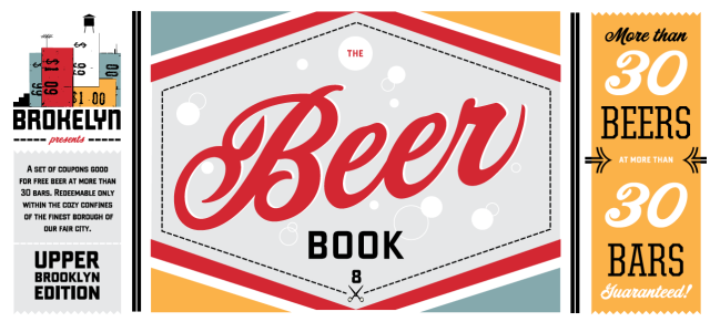Just click the handy beer book!