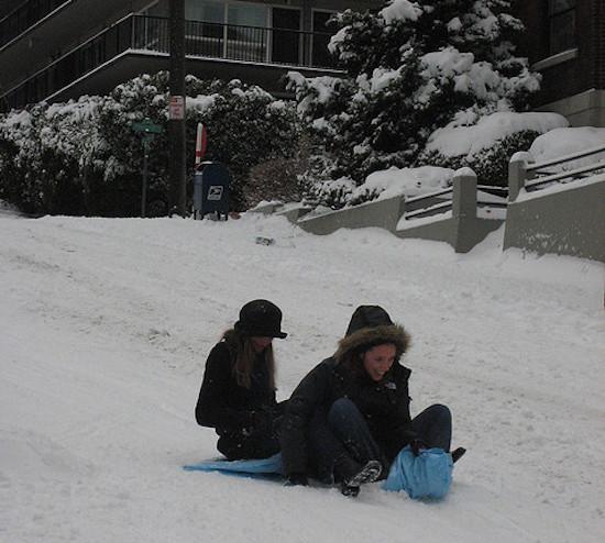 air mattress sled