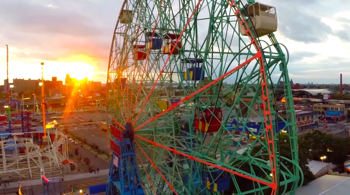 A drone's eye view of Coney (via technical.ly)