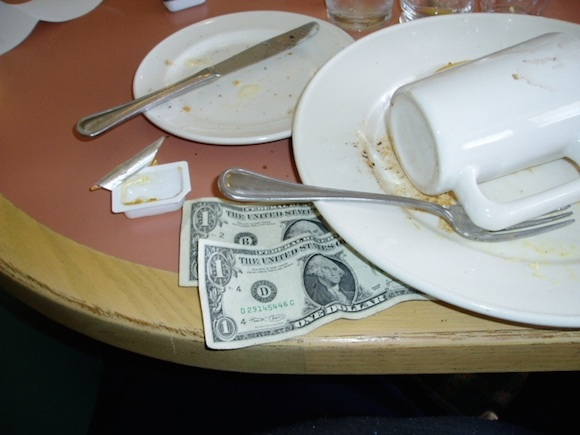Those extra dollar bills still make a big difference to your server. via Wikipedia
