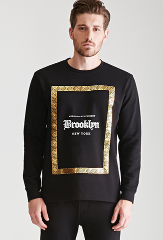 forever 21 brooklyn sweatshirt