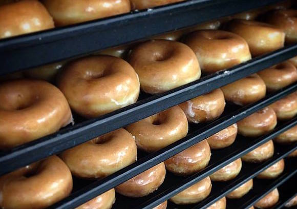 You can snag a free Krispy Kreme doughnut tomorrow (but you have to go to Penn Station)