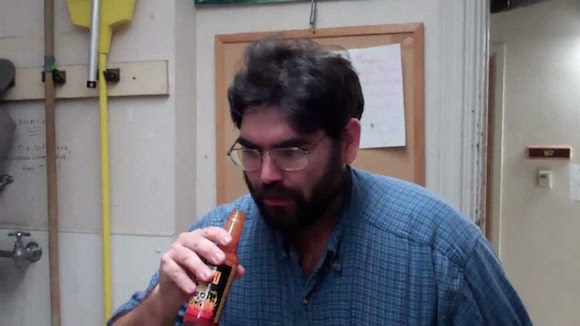 We imagine the sommelier will caution against hot sauce chugging