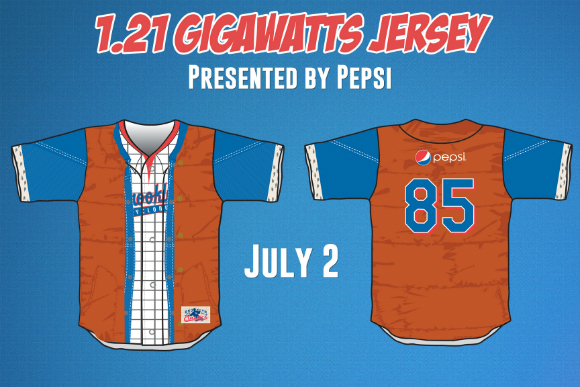 The Cyclones are giving away Marty McFly jerseys in July