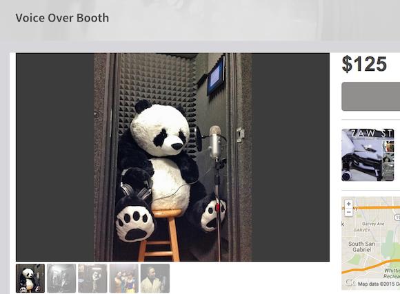 User-friendly and panda-friendly rental service. via Kitsplit