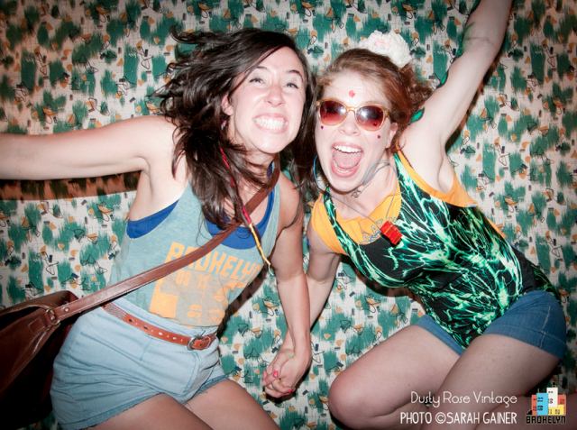 That's Alison (right) with Kelly Murphy. Photo by Bibi Booth.