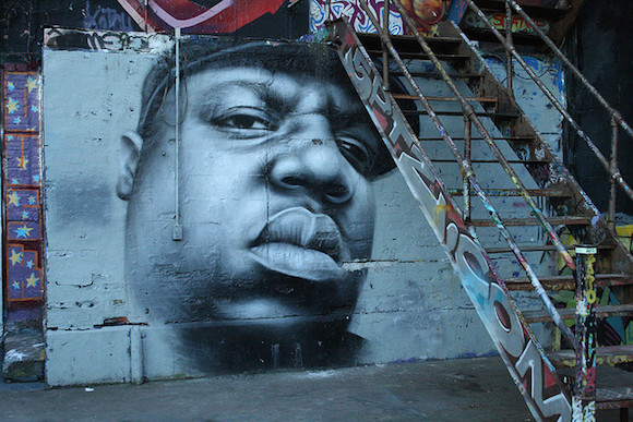 Clinton Hill is getting a brand new Biggie mural