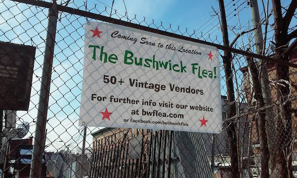 Bushwick is getting another flea market this spring