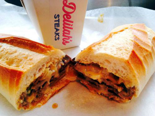 Oh, it's what you do to me: Delilah's giving out free cheesesteaks in honor of National Cheesesteak Day