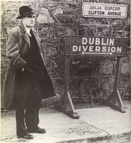 Flann O'Brien will be there. Well, his books will be there.