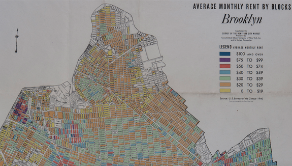 $20/month rent in Williamsburg? This 1940 rent map shows it happened