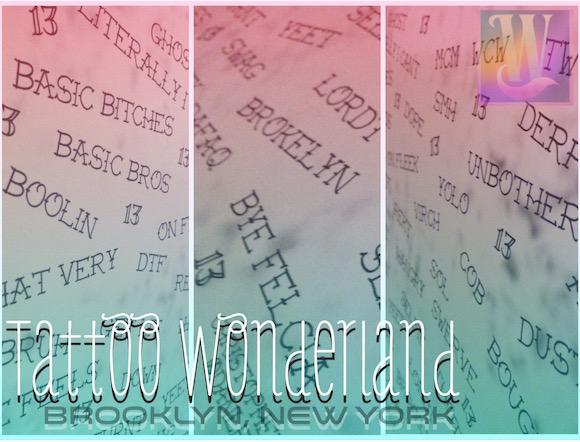 tattoo wonderland