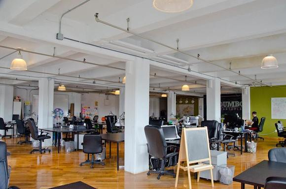 Work like a king for a day at Dumbo Startup Lab. via Facebook