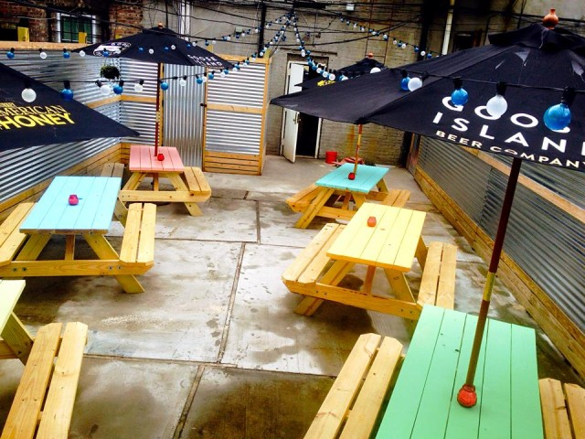 Drink up, Brooklyn! Branch Ofc. boasts a bangin' outdoor space, via FB.