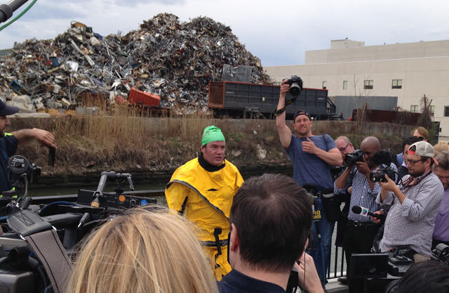 We can clean the Gowanus, but also holy god look at all that scrap metal to deal with.