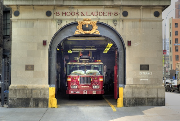 Now you can relive your Ghostbusters fantasies at their official firestation. via flickr user Joi Ito