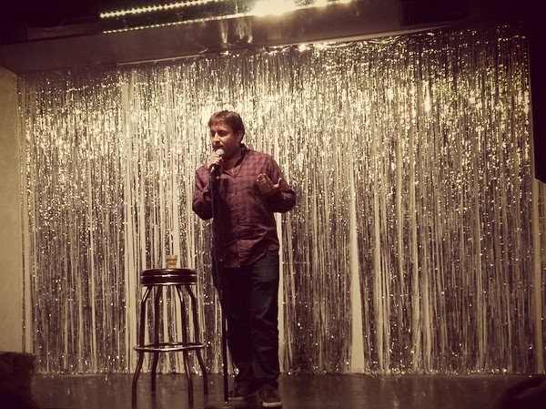 Let professional open mic host Eric Silver be your open mic spirit manimal.