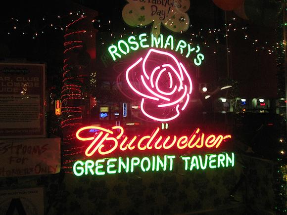 rosemary's greenpoint tavern