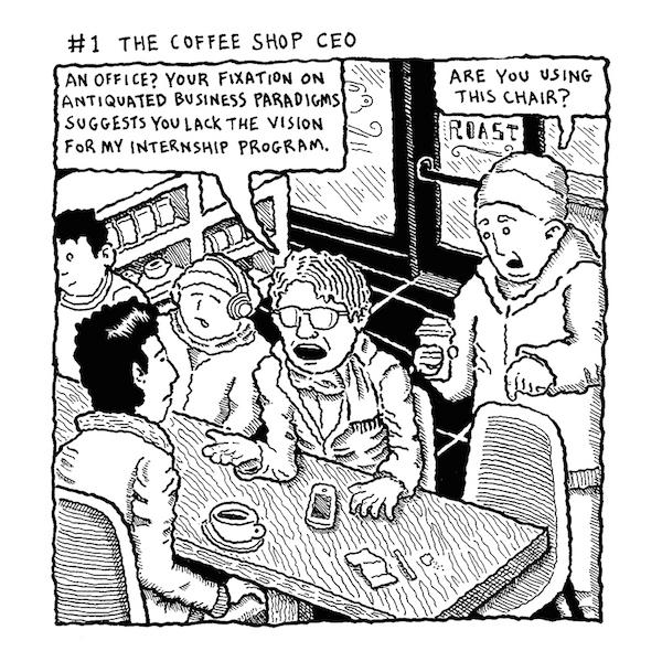 1 COFFEE SHOP CEO