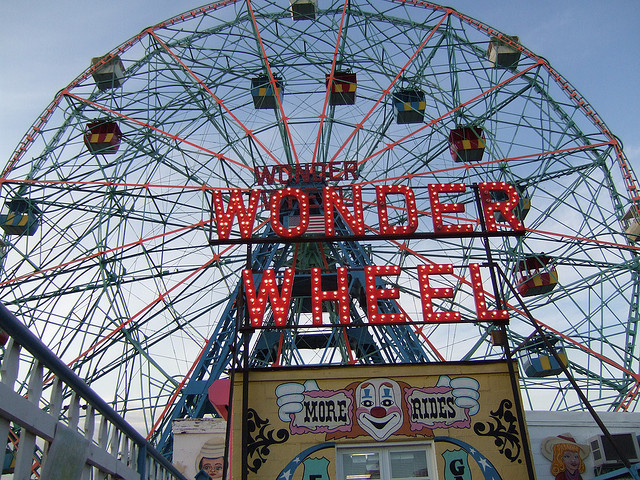 Get poetic on the Wonder Wheel, and 17 more ways to have a well-rounded weekend