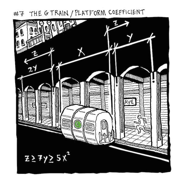 7 G TRAIN COEFFICIENT