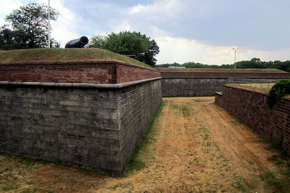 Fort Jay, a bonafide fortress from the Revolutionary War. via Flickr user Wally Gobetz