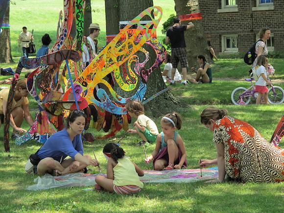 Wacky FIGMENT sculptures and fun activities for everyone. via Flickr user Steel Wool