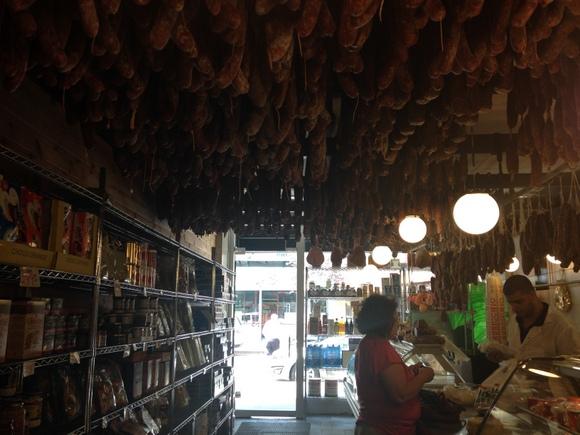 Calabria Pork Store. Photo via Christopher Inoa