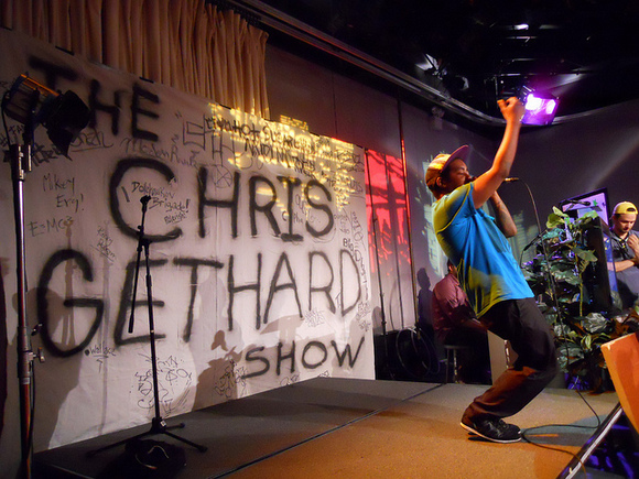 Celebrate Chris Gethard's ascension to network TV with a free Screaming Females show